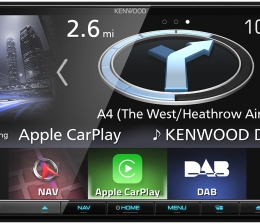 Car-Media Apple CarPlay und Android Auto: Neuer Navitainer von Kenwood mit 17,7-cm-Touchscreen - News, Bild 1