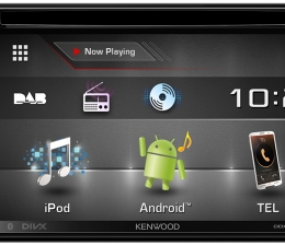 Car-Media Kenwood-Autoradio mit DAB+, Bluetooth und Smartphone-Anbindung - News, Bild 1