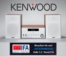 HiFi IFA 2017: Stereosystem mit Digitalradio-Tuner und Bluetooth Audio-Streaming von Kenwood - News, Bild 1