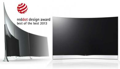 TV LG GEWINNT RED DOT UND IF DESIGN AWARDS - News, Bild 1