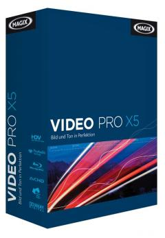 Foto & Cam MAGIX Video Pro X5 – Performanter, effizienter, kreativer - News, Bild 1