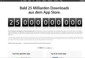 Medien 25 Milliarden App-Downloads - News, Bild 1