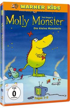 Medien MOLLY MONSTER - DIE KLEINE MONSTERIN STAFFEL 1 – VOL 1-3 - News, Bild 1