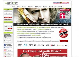 Medien Voelkner DVD, Bluray & Games Verleih - News, Bild 1