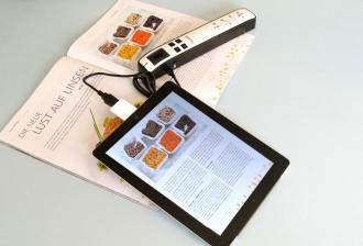 "mobile Devices Avisions Mobile Scanner ""MiWand 2 Pro"" kommuniziert bestens mit dem Apple iPad - News, Bild 1"