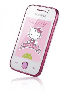 mobile Devices Mädels aufgepasst! Das Samsung Galaxy Y in der Hello Kitty Edition ist da! - News, Bild 1