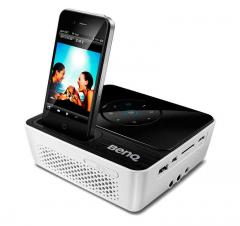 mobile Devices Mini-LED-Beamer To Go - der neue BenQ Joybee GP2 jetzt iPhone- und iPod-kompatibel - News, Bild 1
