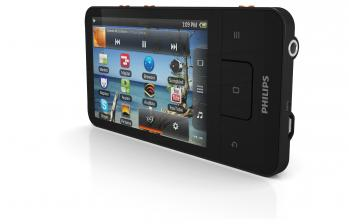 mobile Devices Philips stellt GoGear Connect 3 MP4 Player mit WiFi und Android 2.3 vor - News, Bild 2