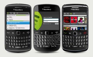 mobile Devices Spotify-App jetzt in der BlackBerry App World verfügbar - News, Bild 1