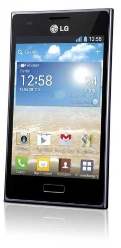 mobile Devices WELTWEITES DEBÜT DES ELEGANTEN LG OPTIMUS L5 - News, Bild 2