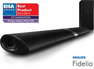 Heimkino Philips gewinnt EISA Award Home Theater Innovation 2013-2014 für Fidelio HTL9100 - News, Bild 1