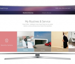 TV CES 2016: Samsungs Smart-TVs werden Internet of Things-fähig - totale Vernetzung - News, Bild 1