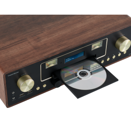 HiFi Mikro-Hi-Fi-Anlage im Retro-Look mit CD-Player, Digitalradio und Bluetooth - News, Bild 1