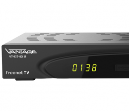 TV DVB-T2-Receiver Vantage VT-93 T-HD IR kommt in den Handel - Fit für Freenet TV - News, Bild 1