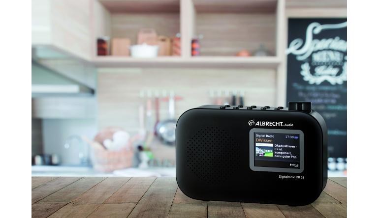 HiFi Kompaktes Digitalradio mit Farbdisplay und Akku - Infos zu Wetter und Musik - News, Bild 1