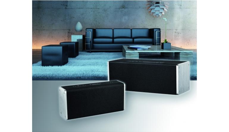 zwei neue wlan lautsprecher von albrecht audio spotify und internetradio. Black Bedroom Furniture Sets. Home Design Ideas