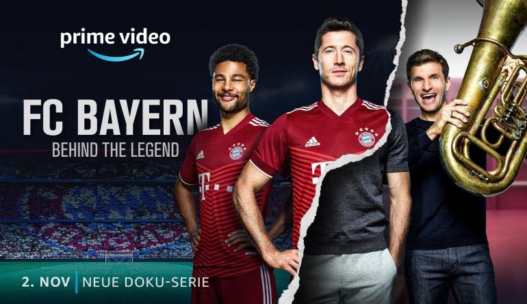 """Medien Ab dem 2. November: """"FC Bayern – Behind the Legend"""" - Sechsteilige Doku bei Amazon Prime Video - News, Bild 1"""