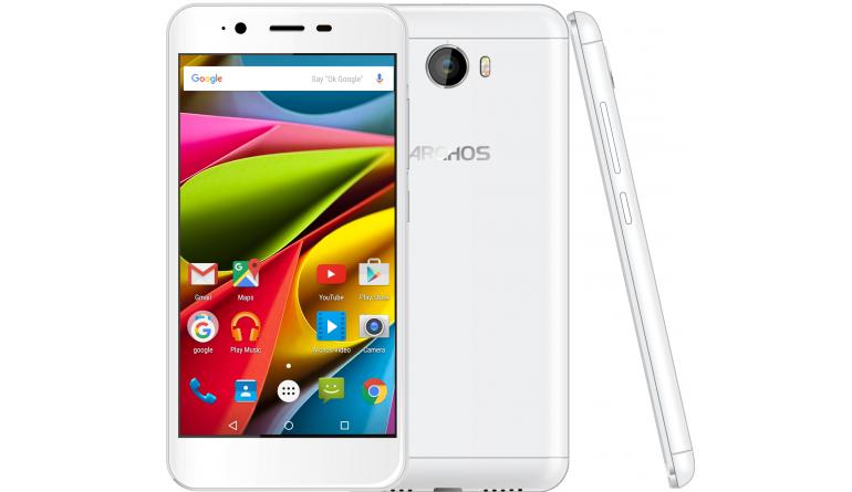 mobile Devices 5 Zoll groß und schickes Perlmuttweiß: Neues Archos-Smartphone 50 Cobalt - News, Bild 1