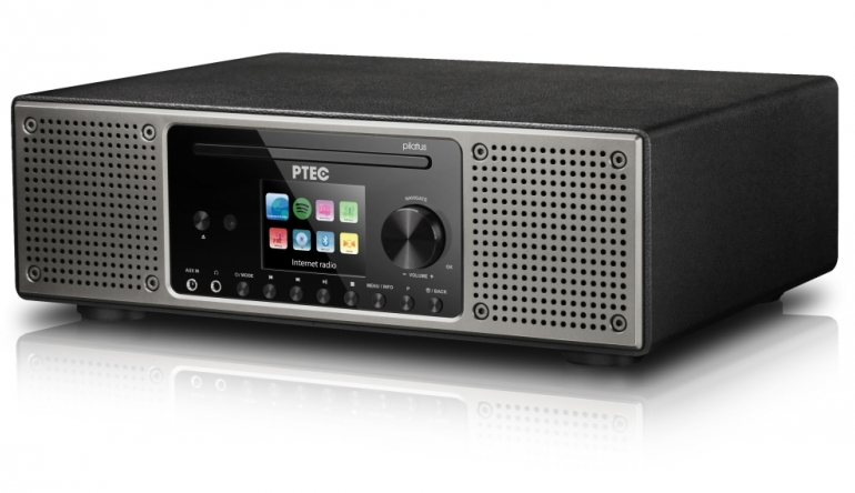HiFi Digitalradio Pilatus II von Atemio mit CD-Player, DAB+ und Spotify - News, Bild 1