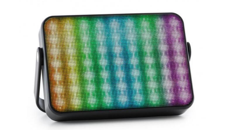 HiFi Bluetooth, Mikrofon und Multicolor-LED-Beleuchtung: Portabler Lautsprecher Dazzl 5.0 von Auna - News, Bild 1