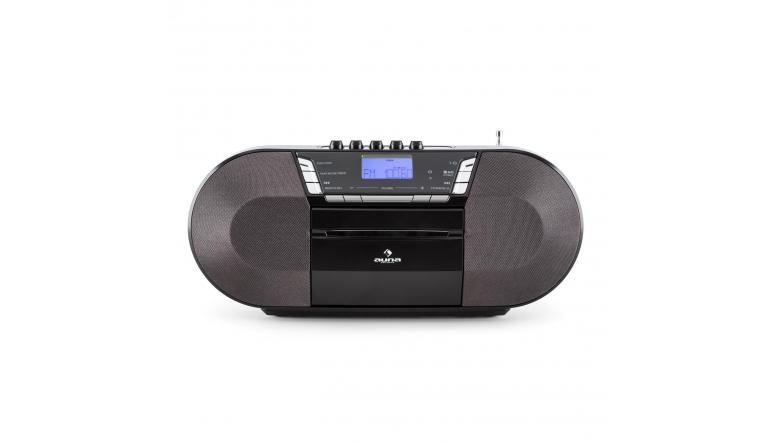 kassette cd radio und usb mobiler ghettoblaster von auna mp3 unterst tzung. Black Bedroom Furniture Sets. Home Design Ideas