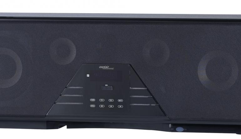 Heimkino 13 Lautsprecher und zwei Subwoofer: Neue Soundbar für 5.1-Klang von Auvisio - News, Bild 1