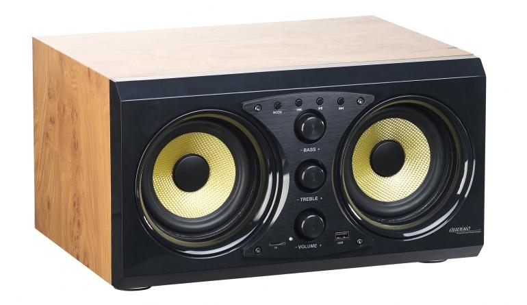 2 0 soundsystem von auvisio mit bluetooth usb anschluss. Black Bedroom Furniture Sets. Home Design Ideas