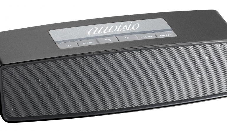bluetooth stereo lautsprecher mit microsd usb fm radio und mikrofon. Black Bedroom Furniture Sets. Home Design Ideas