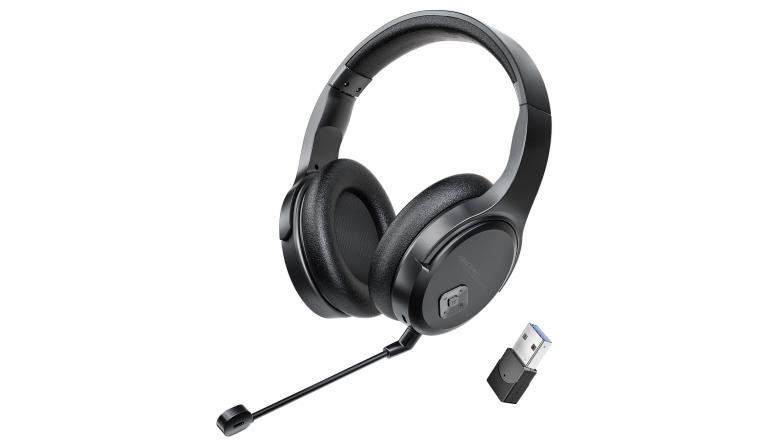 HiFi Funk-Headset mit abnehmbarem Mikrofon - Bis zu 8 Stunden Musik-Streaming am Stück - News, Bild 1