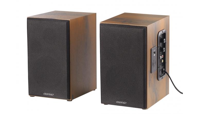 holzboxen set von auvisio mit bluetooth und usb anschluss. Black Bedroom Furniture Sets. Home Design Ideas