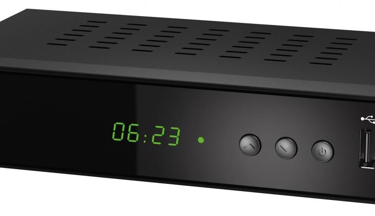 TV Für Kabel und DVB-T2: Preiswerter Einsteiger-Receiver von Pearl - News, Bild 1