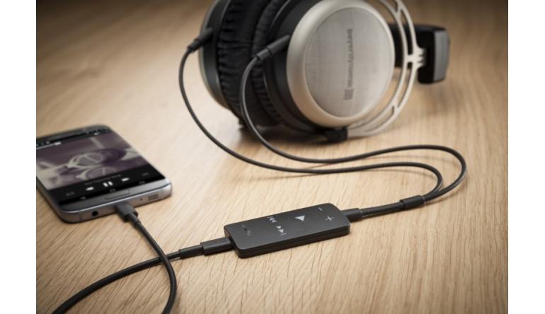 HiFi Mobiler USB-DAC von Beyerdynamic ab Juni - Fit für High-Resolution-Audiosignale - News, Bild 1