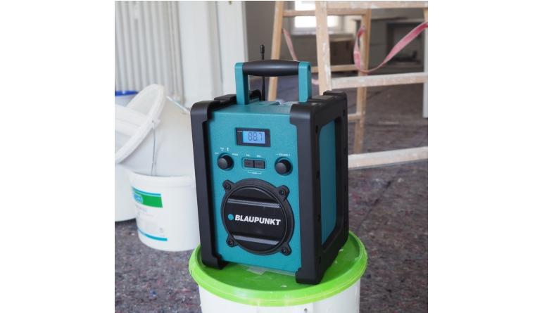 HiFi Robustes Baustellenradio von Blaupunkt - Staub- und strahlwassergeschützt - News, Bild 1