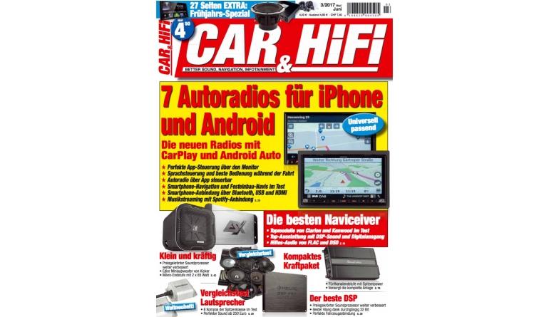 """Car-Media 7 Autoradios für Android und iPhone in der neuen """"Car&HiFi"""" - Die besten Naviceiver - News, Bild 1"""