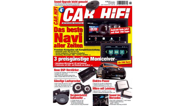 """Car-Media In der neuen """"Car&HiFi"""": Das beste Navi aller Zeiten - Drei preisgünstige Moniceiver  - News, Bild 1"""