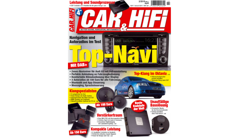 "Car-Media In der neuen ""CAR&HIFI"": Top-Navi mit DAB+ - Neun Lautsprecher im Test - News, Bild 1"