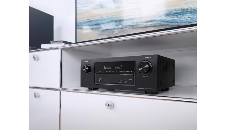 Heimkino 7.2-Kanal-AV-Receiver mit HEOS Multiroom-Technologie: Denon bringt den AVR-X3400H - News, Bild 1