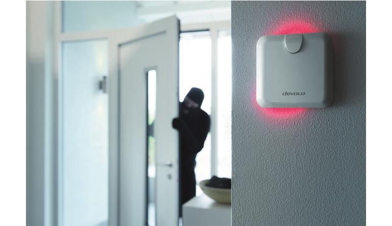 Smart Home Devolo-Alarmsirene warnt mit bis zu 110 Dezibel - System mit Sabotageschutz - News, Bild 1