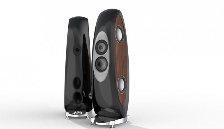 High-End 140 Kilo schwer, 170 Zentimeter hoch: Premium-Lautsprecher Concentro von ELAC - News, Bild 1