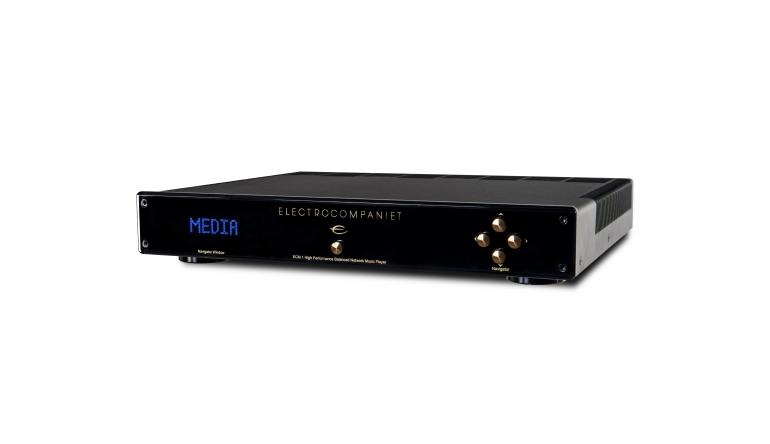 HiFi Interne Festplatte nachrüstbar: Neuer Audio-Streamer ECM-1 von Electrocompaniet - News, Bild 1