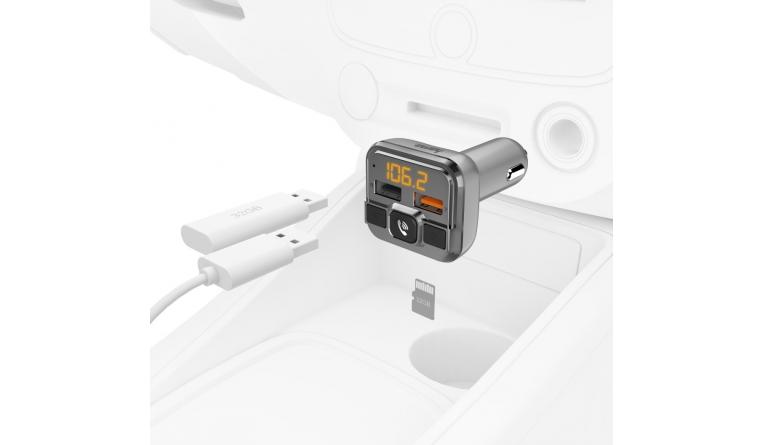 Car-Media Hama: FM-Transmitter mit Bluetooth- und Freisprechfunktion - News, Bild 1
