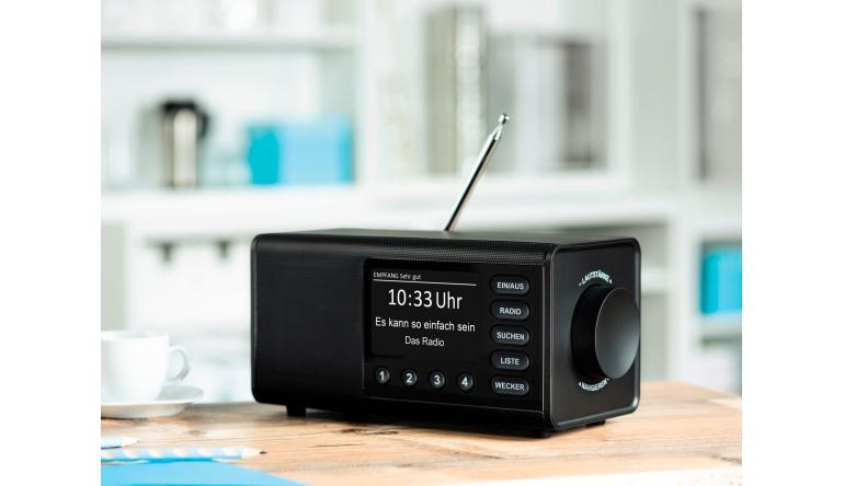 HiFi Hama-Digitalradio DR 1000 DE: 4-Zoll-Display und wenige Tasten für einfache Bedienung  - News, Bild 1