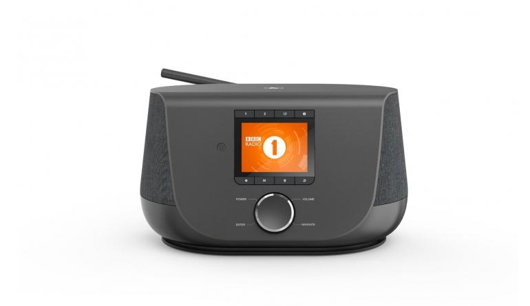 HiFi Hybridradio im Stoff-Design: Hama DIR 3300 - 2,8 Zoll großes Farbdisplay - News, Bild 1