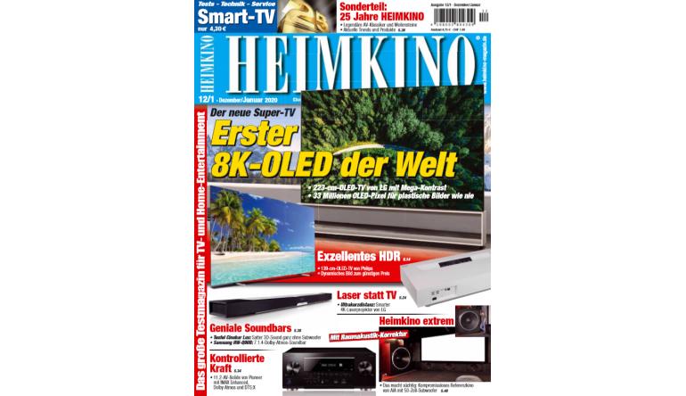 """Heimkino 25 Jahre  """"HEIMKINO"""": Der erste OLED-TV mit 8K - Referenzkino von AIA - News, Bild 1"""