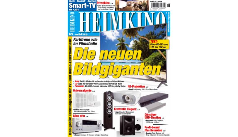 Heimkino Die neuen Bildgiganten: Farbtreue wie im Filmstudio - Profi-Sound fürs Heimkino - News, Bild 1