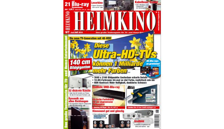 """Heimkino Diese Ultra-HD-TVs können eine Milliarde mehr Farben: Neue Fernseher im """"HEIMKINO""""-Test - News, Bild 1"""