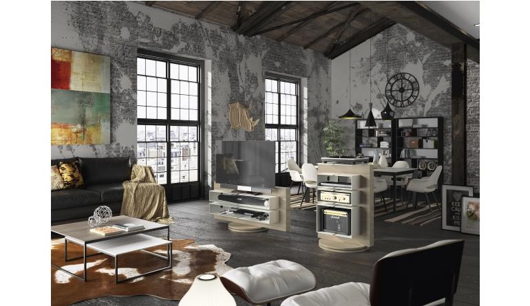 frischer glanz fur tv und hifi mobel luke beton optik und massive