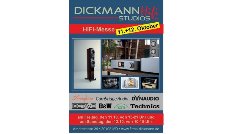Heimkino Hausmesse bei TV+HIFI-Studio Dickmann in Magdeburg am 18. und 19. Oktober - News, Bild 1