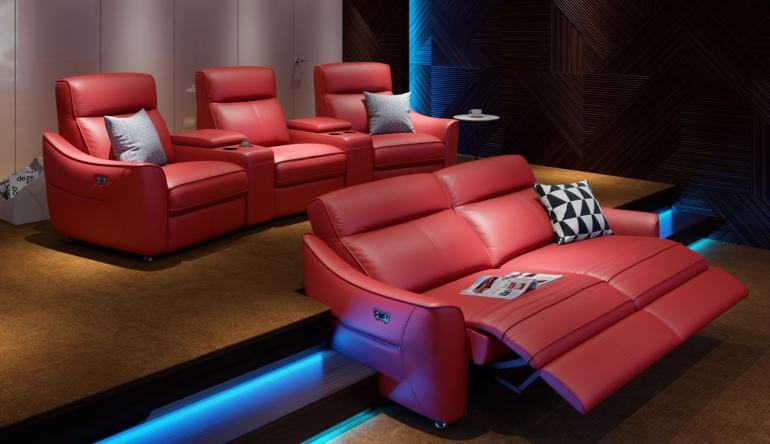 Heimkino Heimkino-Sofa von Sofanella mit Relax- und USB-Aufladefunktion  - News, Bild 1