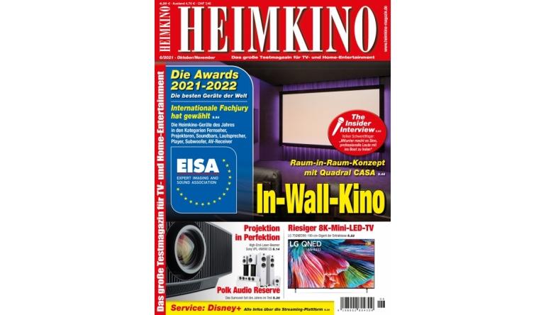 """Heimkino In der neuen """"HEIMKINO"""": 8K-Mini-LED-TV von LG - Disney+ - Highend-Beamer von Sony - News, Bild 1"""